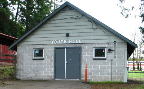Youth Hall front
